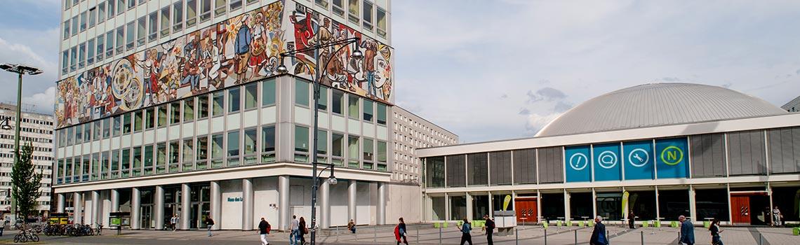Berlin Stadtführung Tour Haus des Lehrers